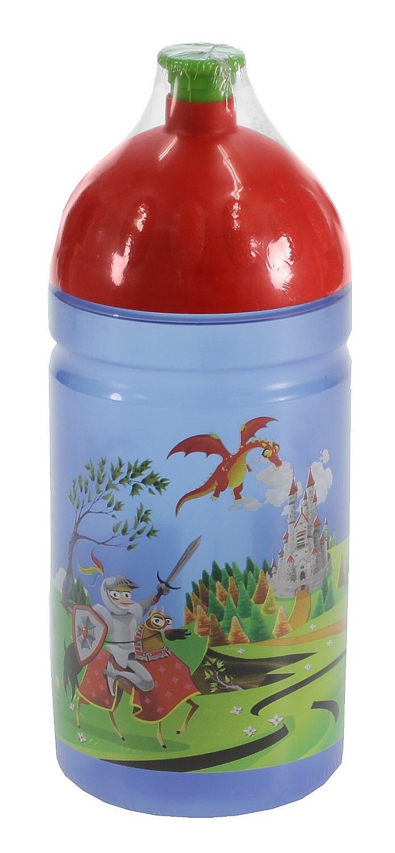 láhev na pití Zdravá Lahev Rytíř 0.5 - Blue/Red 0.5 L