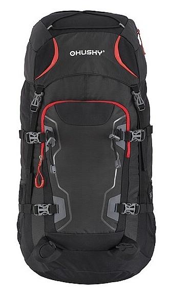 batoh Husky Sloper 45 - Black 45 L