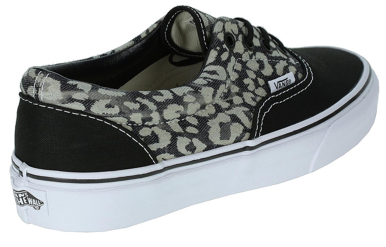 db9efec159 shoes Vans Era - Washed Leopard Black - Snowboard shop