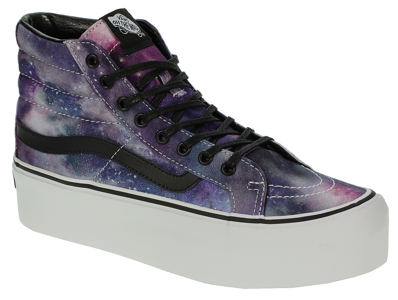 61728ade445f boty Vans Sk8-Hi Platform - Cosmic Galaxy Black - Snowboard shop ...