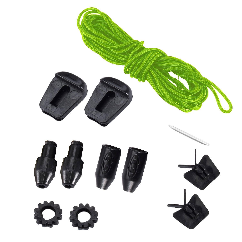 da87d05b5719 shoelaces Salomon Quicklace Kit - Green - Snowboard shop