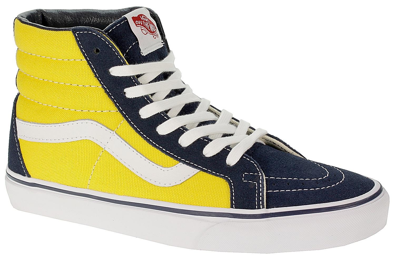 shoes Vans Sk8-Hi Reissue - Golden Coast Dress Blues Spectra Yellow -  Snowboard shop 330cad2a69