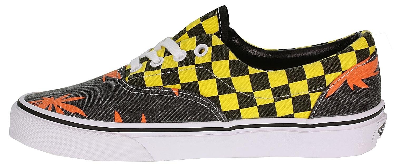 44d9f1ec33d boty Vans Era - Van Doren Orange Palm Yellow Checker - Snowboard ...