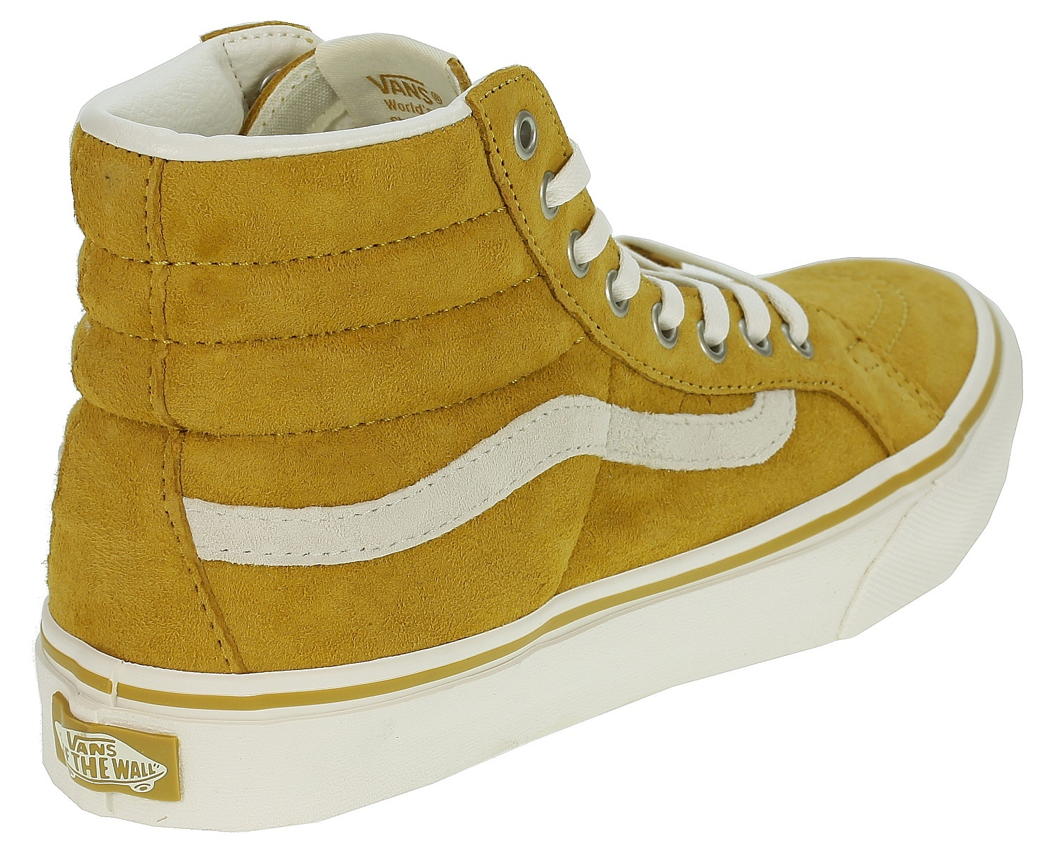 b94323d3e6 ... shoes Vans Sk8-Hi Slim - Scotchgard Amber Gold Marshmallow ...