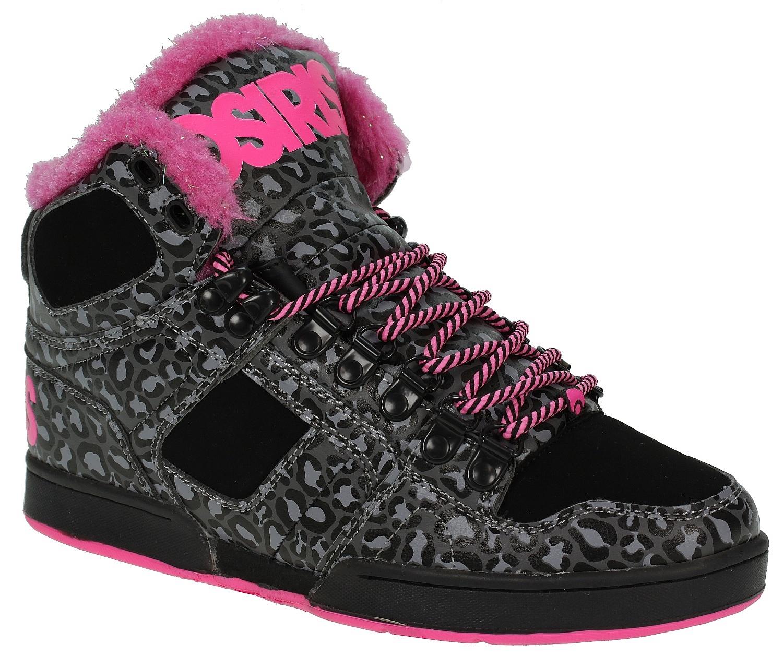 8090d49b3b shoes Osiris NYC 83 VLC - Black/Pink/Cheetah - Snowboard shop, skateshop -  snowboard-online.eu