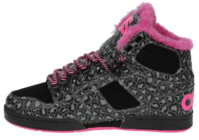 fb20431ccb shoes Osiris NYC 83 VLC - Black/Pink/Cheetah - Snowboard shop ...