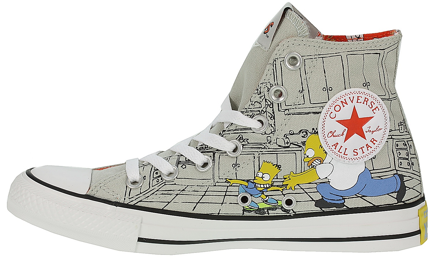 16981bf5a4091 ... topánky Converse Chuck Taylor All Star Hi - 146808/Cloud Gray/Multi/The  ...