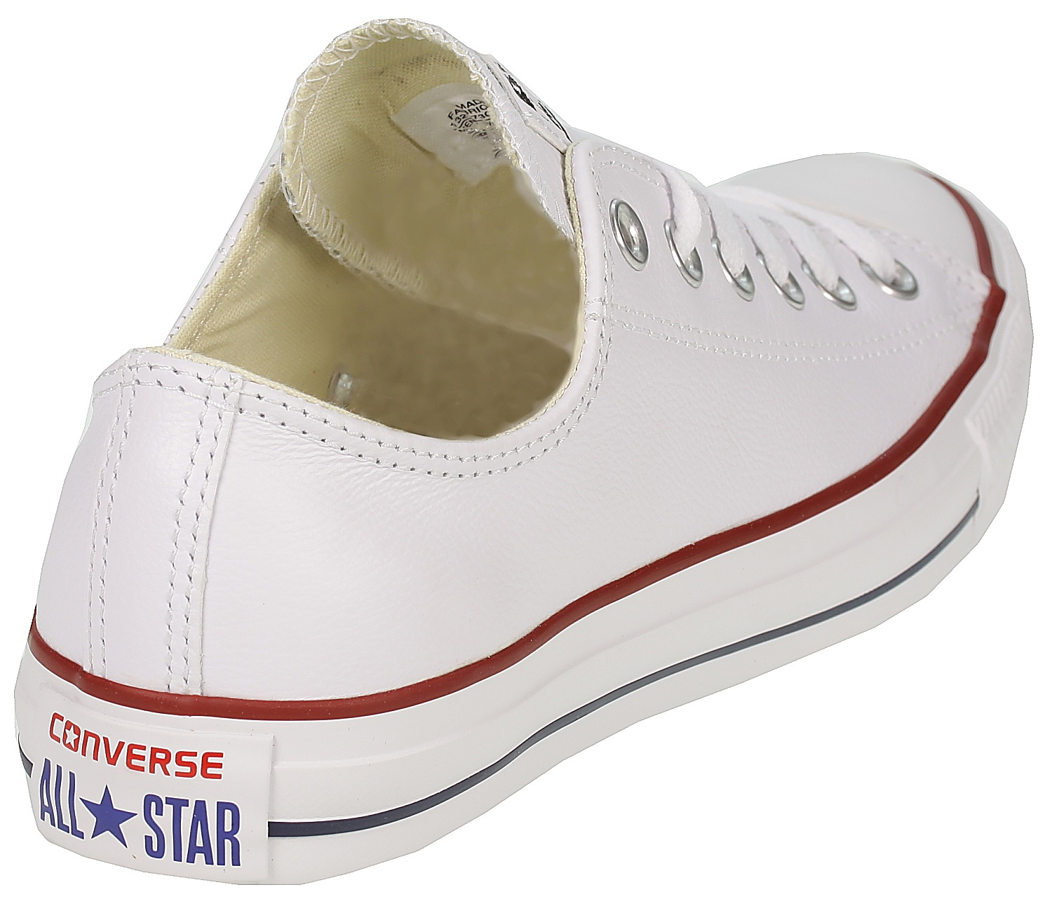 ... boty Converse Chuck Taylor All Star Leather OX - 132173 White ... b2c3268049f