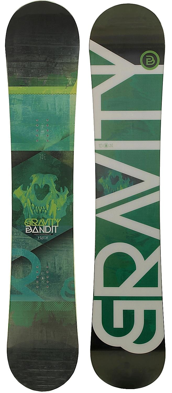 f2a3748c7142 snowboard Gravity Bandit - No Color - Snowboard shop