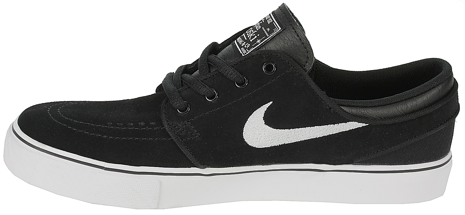 shoes Nike SB Stefan Janoski GS - Black/White/Gum/Medium Brown