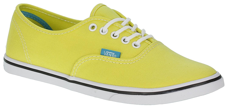 b1e71ffc98b59e Vans Authentic Lo Pro Shoes - Pop Yellow Cyan Blue - Snowboard shop ...
