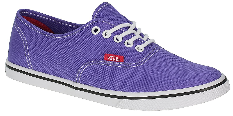 5443e672215f0e Vans Authentic Lo Pro Shoes - Pop Purple Iris Rose Red - Snowboard shop