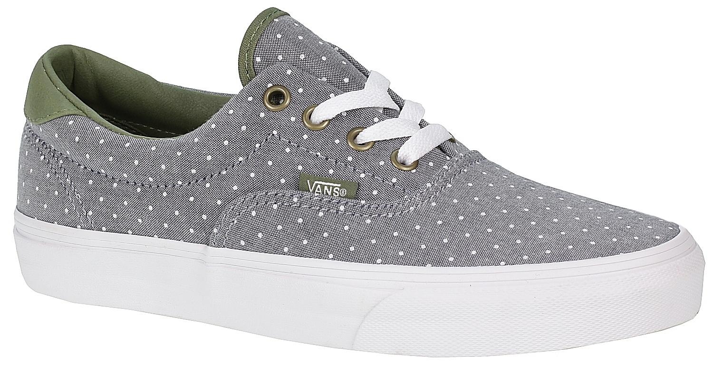 d7a1605125 Vans Era 59 Shoes - Chambray Dots Green Insignia Blue - Snowboard shop