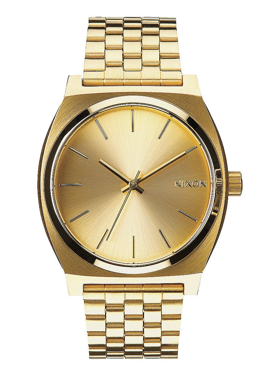hodinky Nixon Time Teller - All Gold/Gold one size