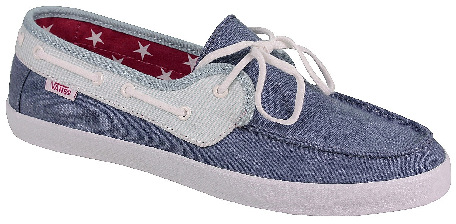 shoes Vans Chauffette - Americana/Stv Navy/Forget Me Not ...