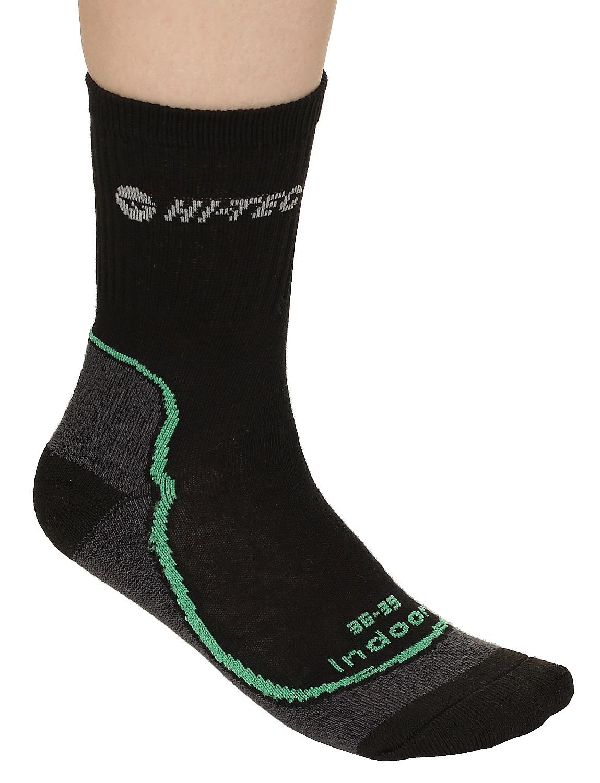 ponožky Hi-Tec Gimbo - Black/Gray/Dark Green 36-39