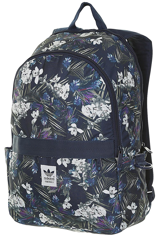 10cb98a3c2150 plecak adidas Originals Dark Floral - Multicolor/Night Indigo/White - Snowboard  shop, skateshop - blackcomb-shop.pl
