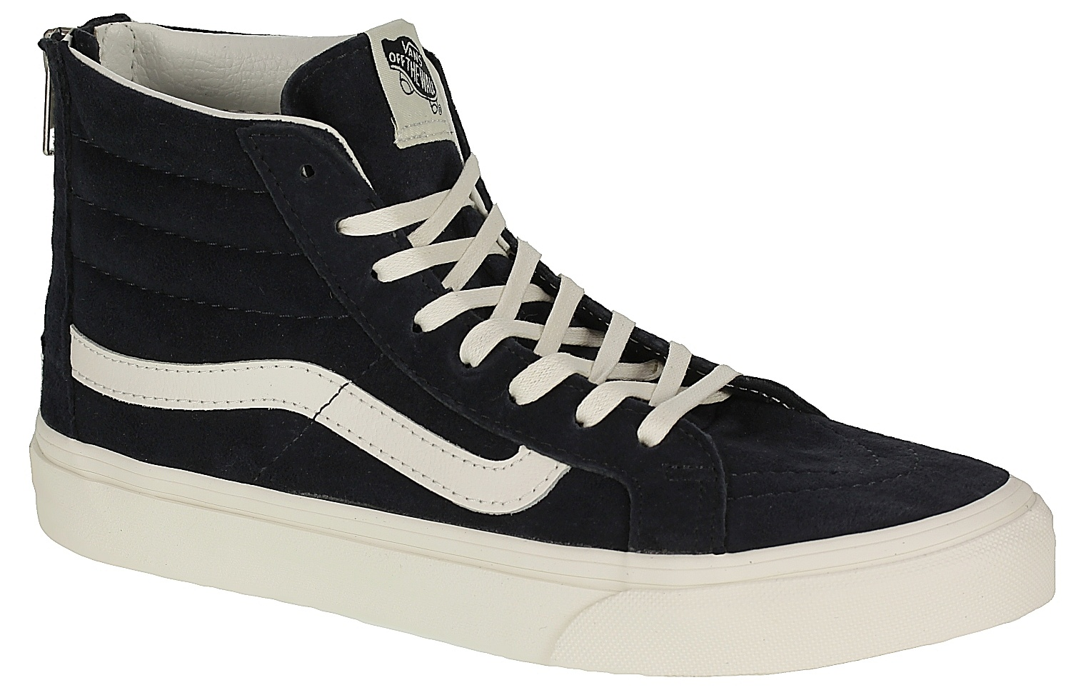 6c8c94d3a6 Vans Sk8-Hi Slim Zip Shoes - Scotchgard Blue Graphite - Snowboard shop