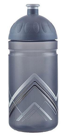 láhev na pití Zdravá Lahev Bike hory 0.5 - Gray 0.5 L