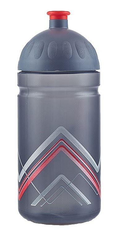 láhev na pití Zdravá Lahev Bike hory 0.5 - Red 0.5 L