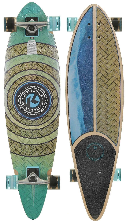 longboard Kryptonics Pintail Roud Weaved - SK15161362 9.50x34