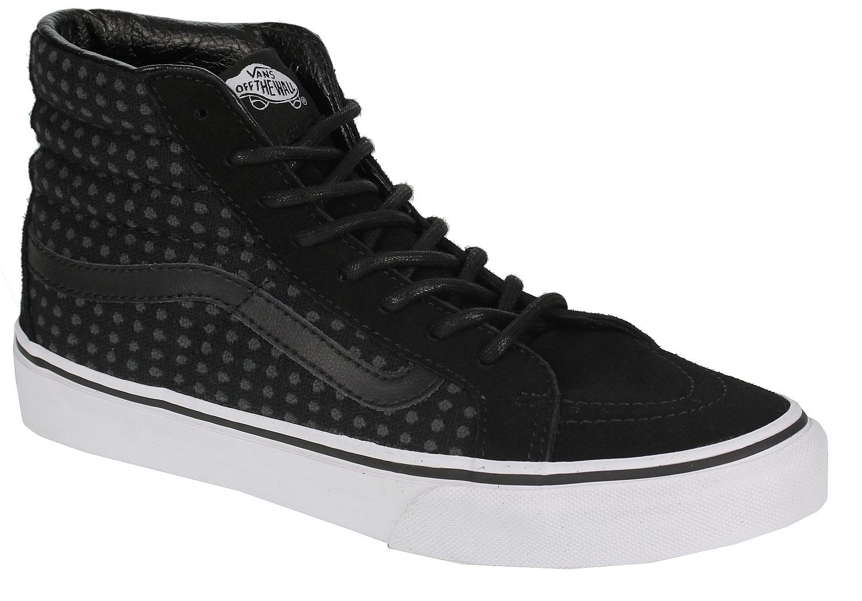5134f96243 boty Vans Sk8-Hi Slim - Wool Dots Black True White - Snowboard shop ...