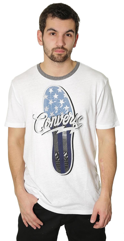 859c946683a tričko Converse Chuck Sole Crew 12152C - 102 Converse White XL