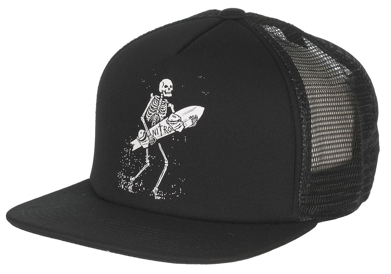 kšiltovka Nitro Bones - Black - Snowboard shop d1047371fe