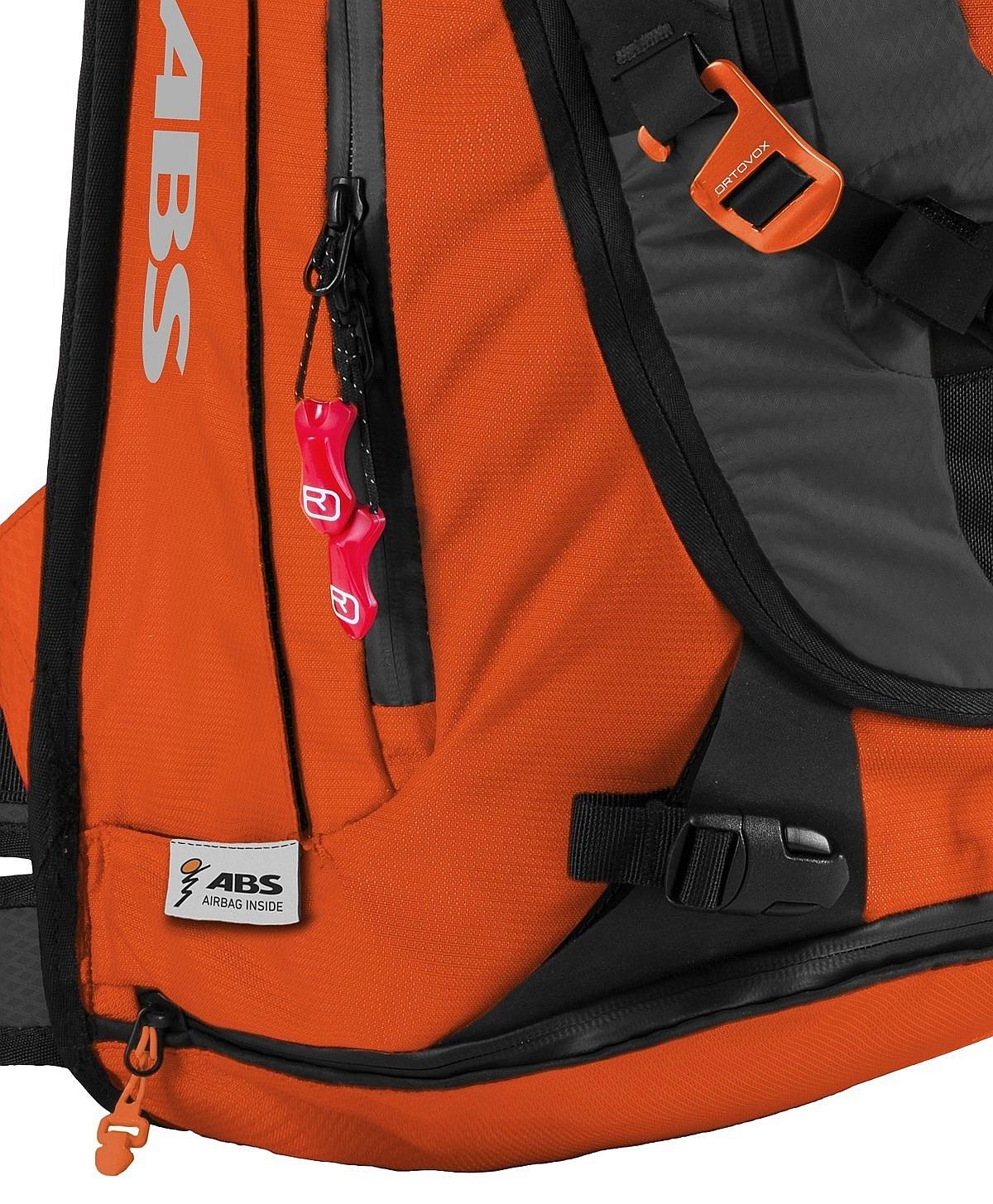 6b9f8380489 ... batoh Ortovox Tour 32+7 ABS Incl. M.A.S.S. - Crazy Orange ...