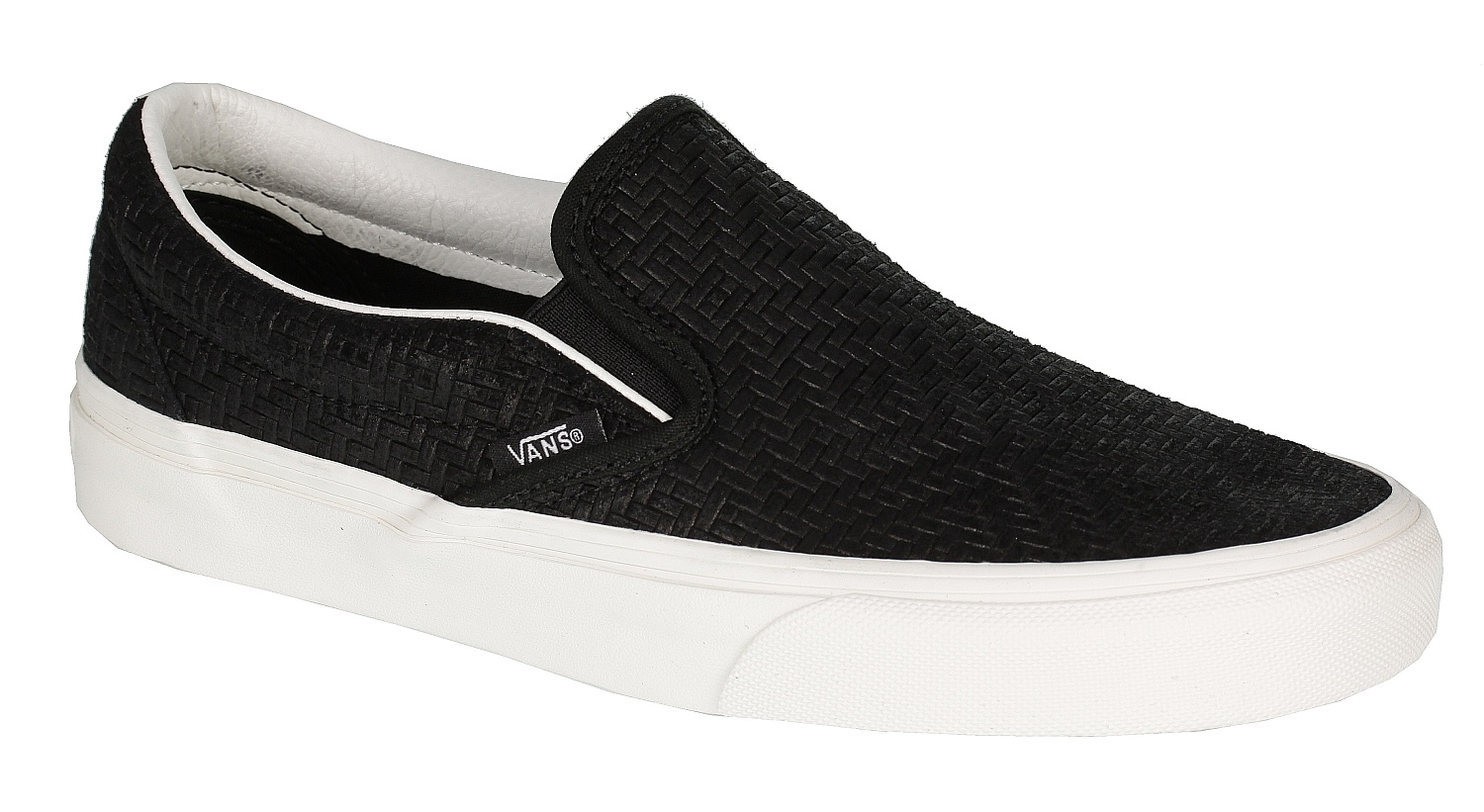 1db10055f9 shoes Vans Classic Slip-On - Braided Suede Black - Snowboard shop ...