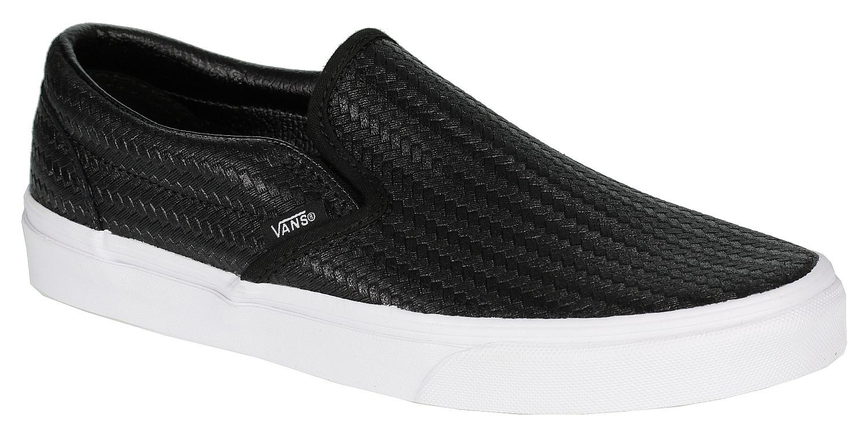 f70d72ba46cf0f shoes Vans Classic Slip-On - Embossed Weave Black True White - Snowboard  shop