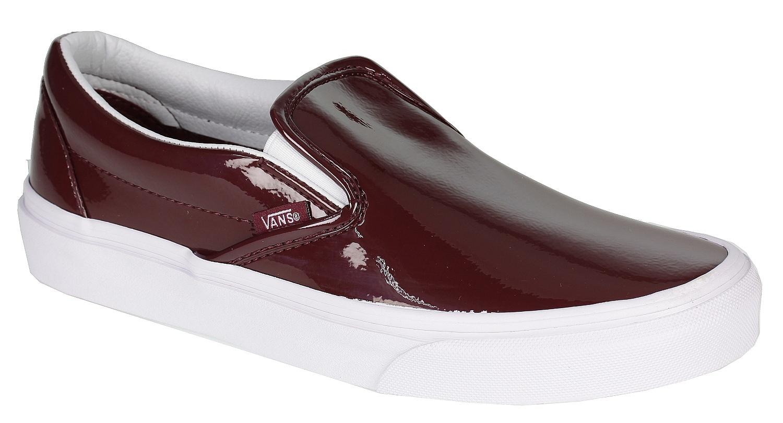 fb8a92f44c shoes Vans Classic Slip-On - Tumble Patent Burgundy - Snowboard shop ...