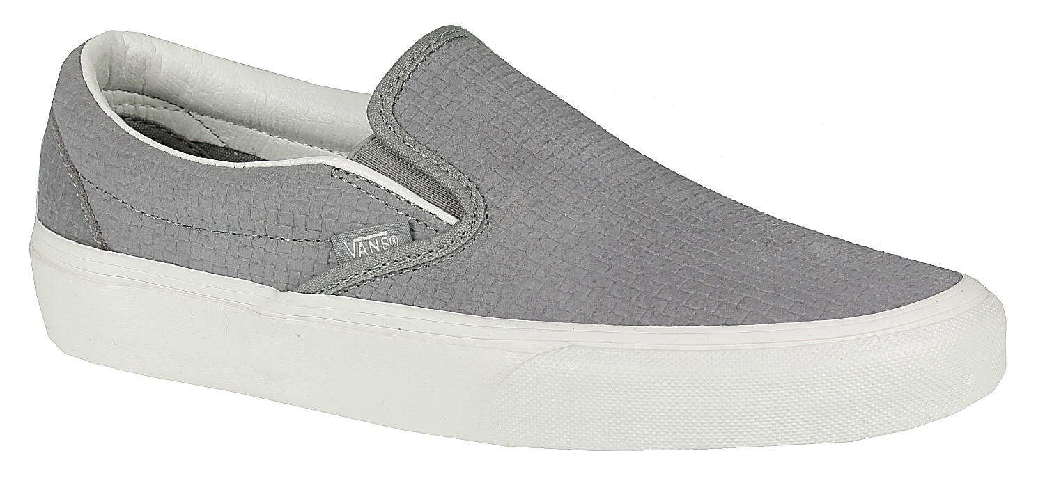 a93bf135ee shoes Vans Classic Slip-On - Braided Suede Wild Dove - Snowboard shop
