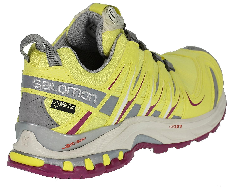 shoes Salomon XA Pro 3D GTX W - Citrus-X Light Gray Mystic Purple ... 03162215674