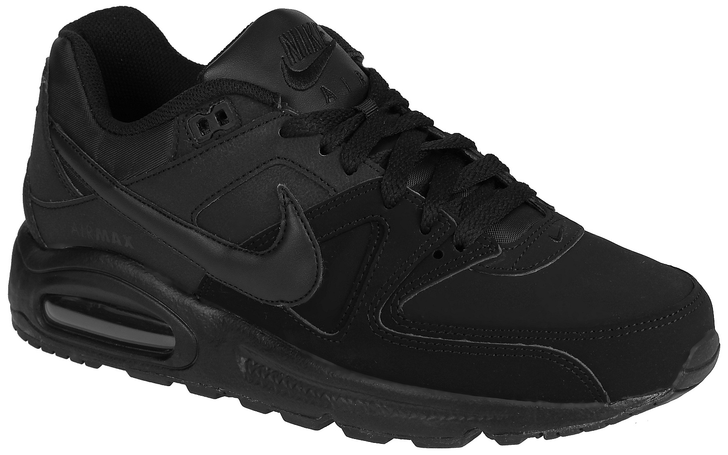 uk availability cee2a 36946 shoes Nike Air Max Command Leather - Black Black Anthracite - Snowboard  shop, skateshop - snowboard-online.eu