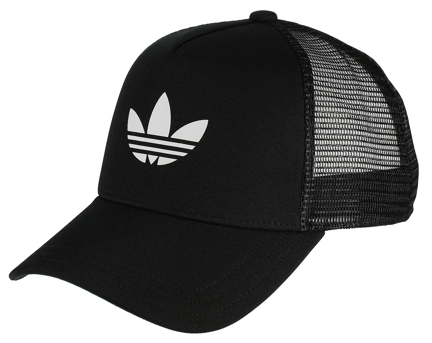 68c20770644 kšiltovka adidas Originals Trefoil Trucker - Black White - Snowboard shop
