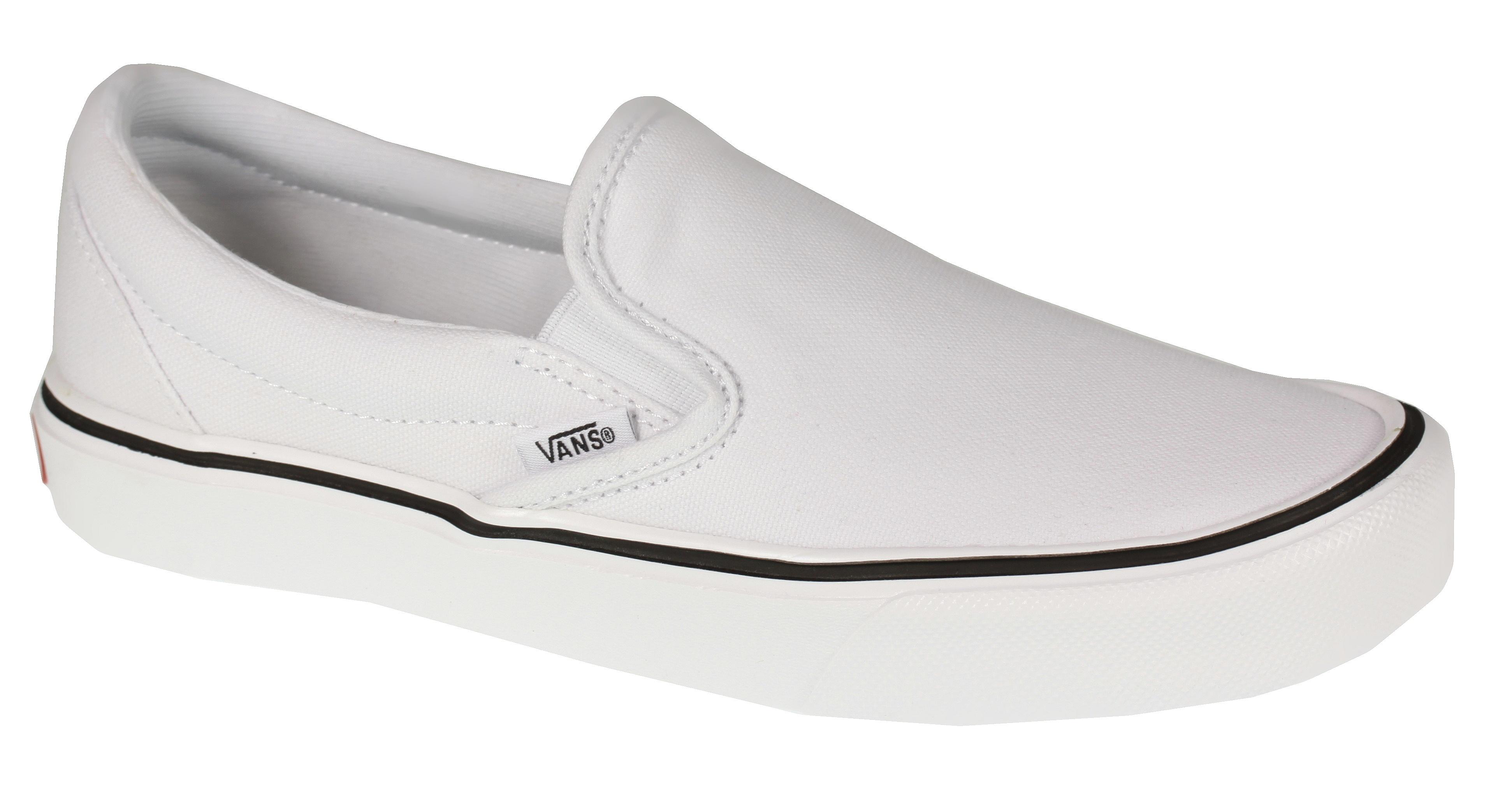 767fb07d491c shoes Vans Slip-On Lite + - Canvas True White - Snowboard shop ...