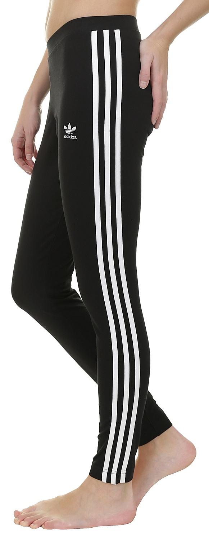 a6851e98b67 legíny adidas Originals 3 Stripes - Black - skate-online.skate-online.sk