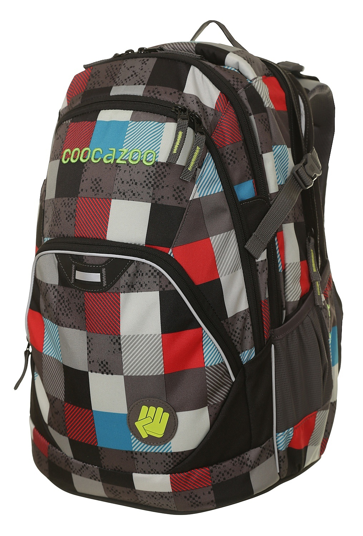 batoh Hama - Coocazoo 129871/EvverClevver 2 - Checkmate Blue Red 30 L