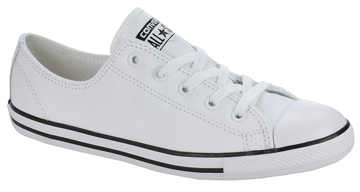 f9b721579a boty Converse Chuck Taylor All Star Dainty Leather OX - 537108 White -  Snowboard shop