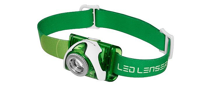 čelovka Led Lenser Seo 3 - Green one size