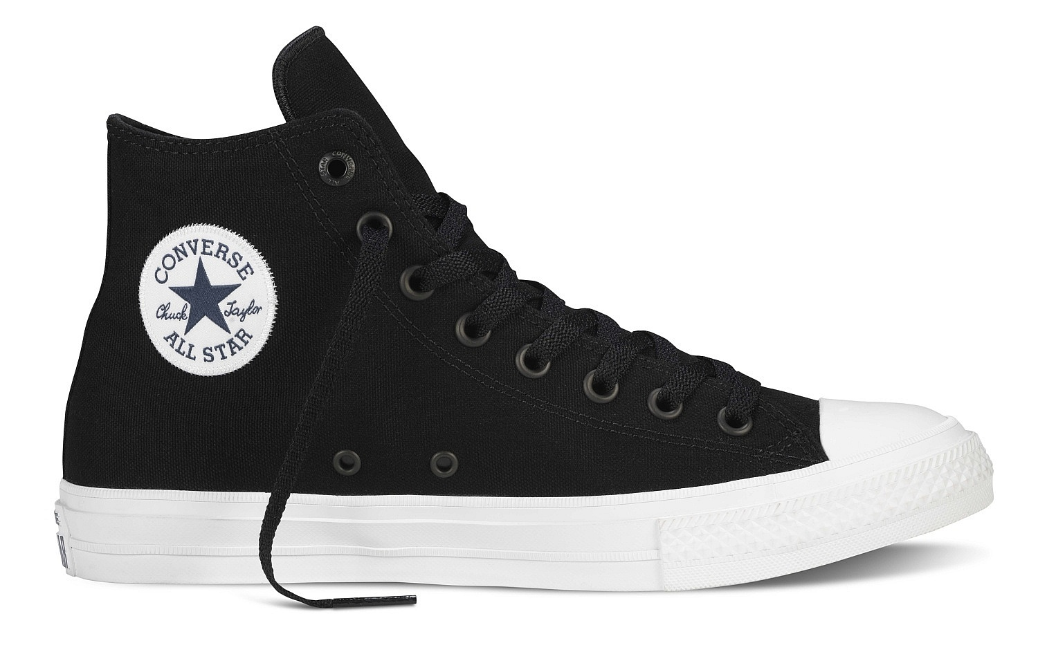 ac170bb05696 boty Converse Chuck Taylor All Star II Hi - 150143 Black White Navy -  Snowboard shop