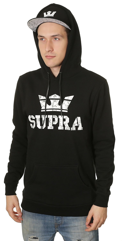 mikina Supra Above - Black - Snowboard shop a290de45b94