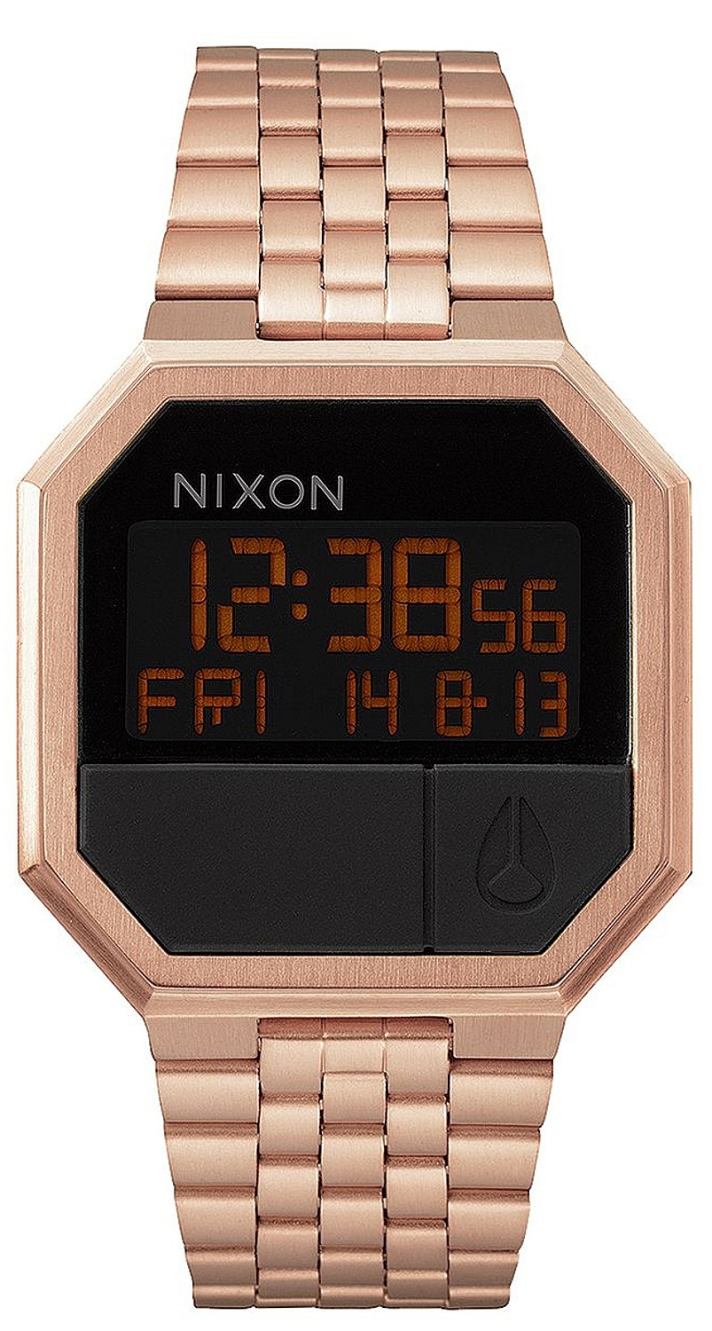 hodinky Nixon Re-Run - All Rose Gold one size