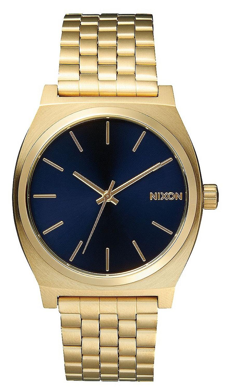 hodinky Nixon Time Teller - All Light Gold/Cobalt one size