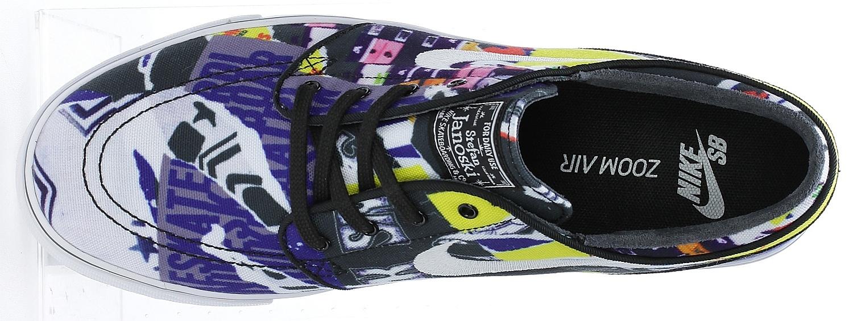 552e307e00 boty Nike SB Zoom Stefan Janoski Canvas Premium Black
