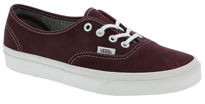 d7e8ff2fd166 shoes Vans Authentic - Varsity Suede Red Mahogany - Snowboard shop ...