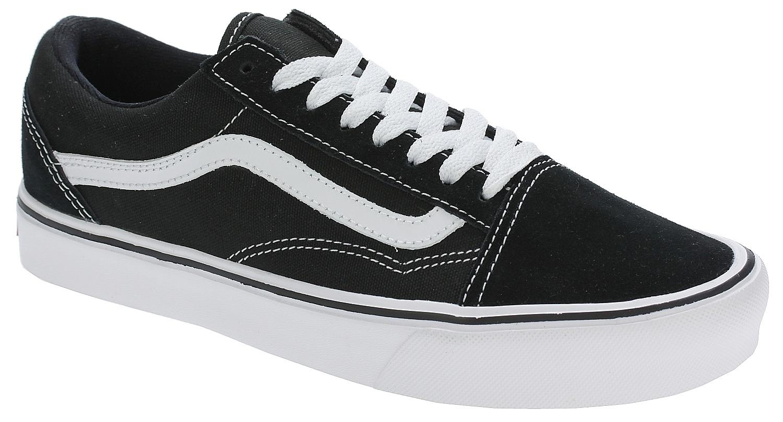 boty Vans Old Skool Lite - Suede Canvas Black White 40.5 370d9417c6