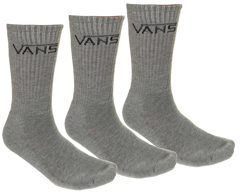 ponožky Vans Classic Crew 3 Pack - Heather Gray 42.5-47