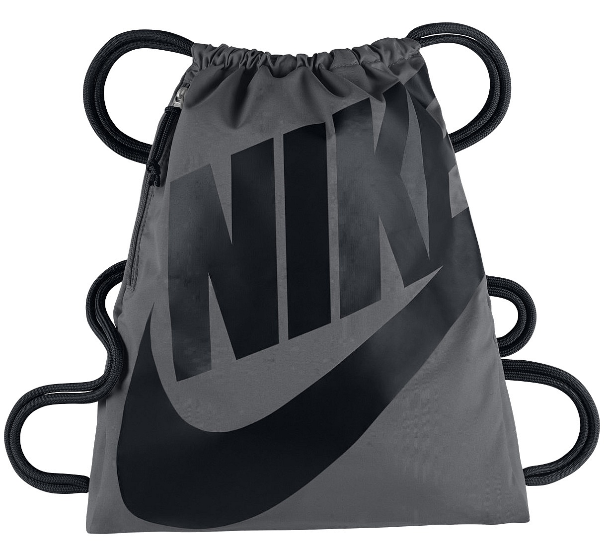 vak Nike Heritage Gymsack - 009 Dark Gray Black Black 13 L 321e1826ac